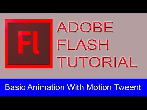 Adobe Flash Tutorial - Basic Animation With Motion Tween