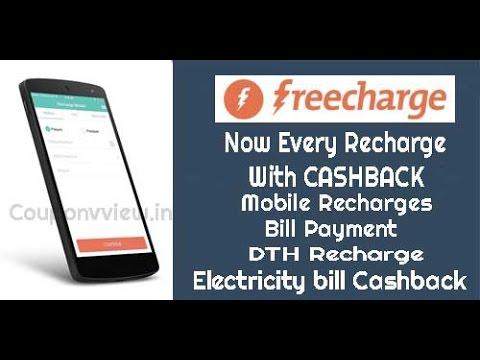 Freecharge se free me mobile recharge kaise karte h
