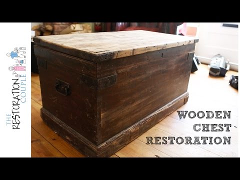 Antique Wooden Chest Restoration - Project Intro