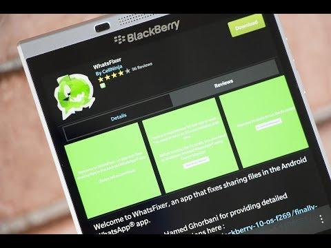 sharing failed please try again whatsapp blackberry