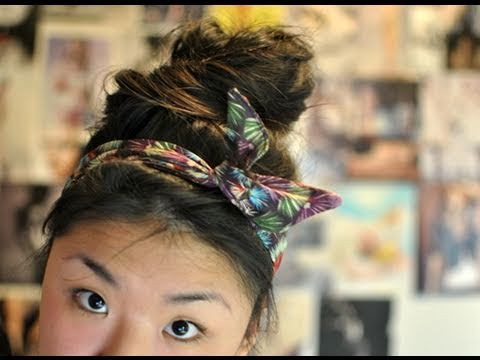 ✂ DIY Wired Headwrap
