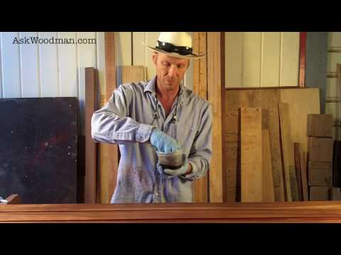 16 How To Apply Waterlox Tung Oil Finish With Homemade Applicator - SOLID WOOD DOOR SERIES - Video 6