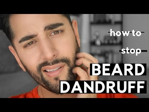 How To Stop Beard Dandruff / Itchy Beard And Flakey Skincare - ✖ James Welsh