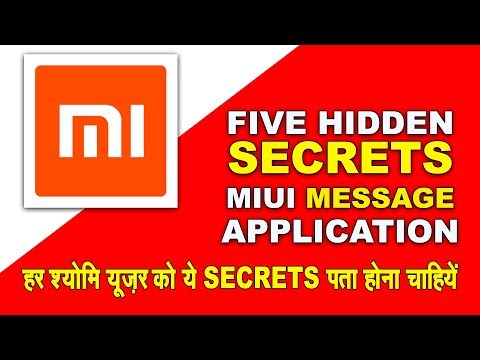 TOP 5 Hidden Secrets of MIUI Message Application | Every Xiaomi Users Should to Know | TechnicalVids