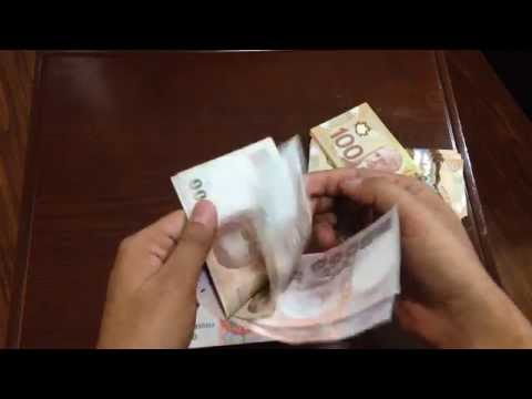 How to Count Money Fast CAD $ RMB ¥ THB ฿