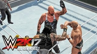 WWE 2K17 All new moves part 3! (FUTURE STARS PACK DLC)