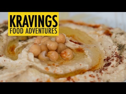 Basic creamy hummus – Chickpeas and Tahina based dip