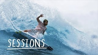 Cutting waves in outer Indonesia. | Sessions