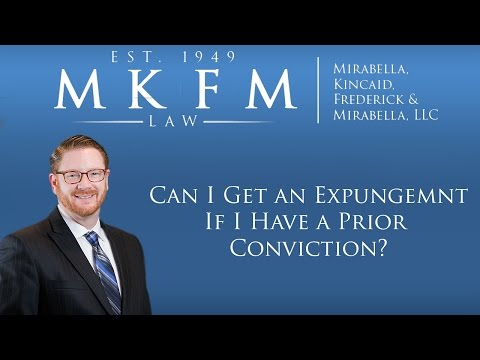 New Expungement Law 2017: Can I Get an Expungement if I Have a Prior Conviction?