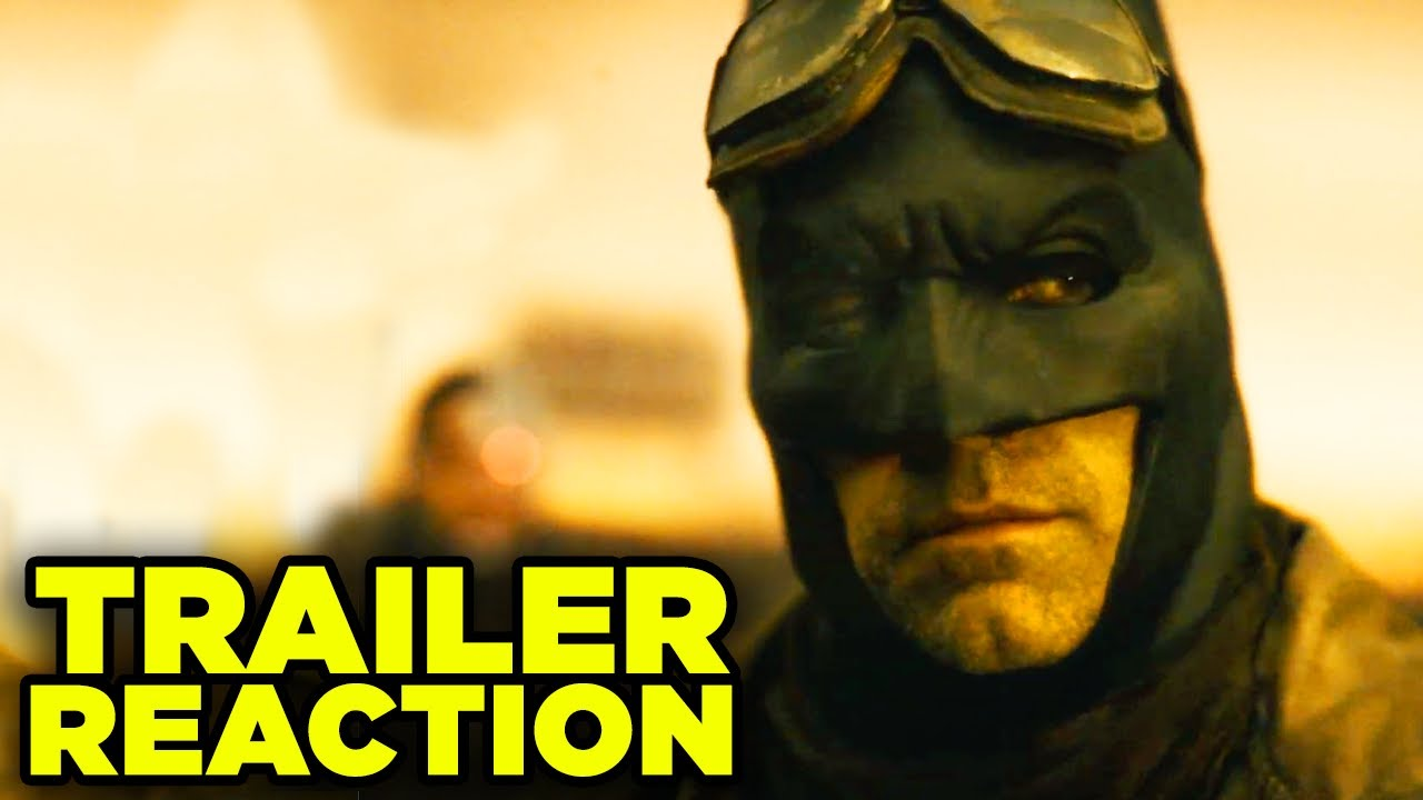 "JUSTICE LEAGUE SNYDER CUT TRAILER REACTION! Joker Jared Leto ""We Live In A Society"" First Thoughts!"