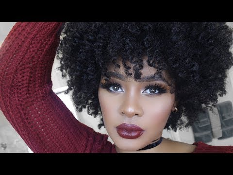 How to Add Volume & Moisture For Big Curly Fro | Natural Hair
