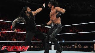 Roman Reigns vs. Seth Rollins: Raw, March 2, 2015