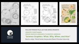 """""""Science Graphics: What, Why, When, and How"""" - A William Pierson Field Lecture"""
