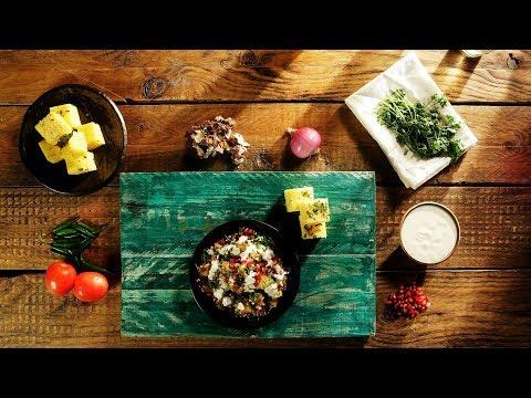 Crispy Dhokla Chaat - How to Make Crispy Dhokla Chaat | Easy Chaat Recipe