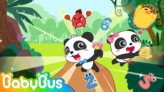 Baby Panda Rescues Friends | Math Kingdom Adventure 1-8 | Pelajari Nomor | BabyBus Cartoon