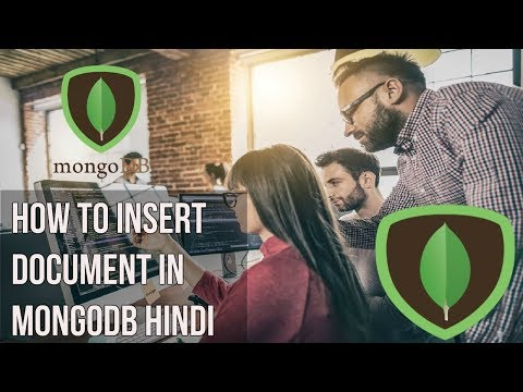 Learn mongodb in Hindi | How to insert document in mongodb Hindi