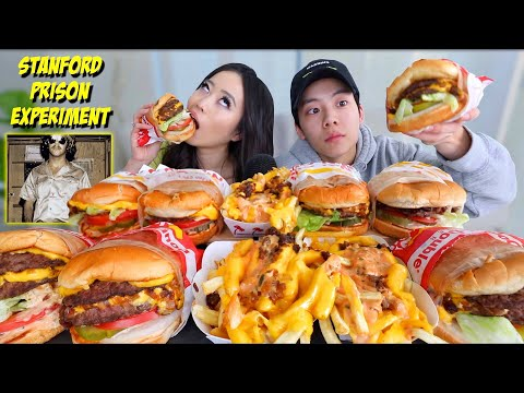 Xxx Mp4 ANIMAL STYLE IN N OUT CHEESY BURGERS FRIES MUKBANG 먹방 Eating Show 3gp Sex