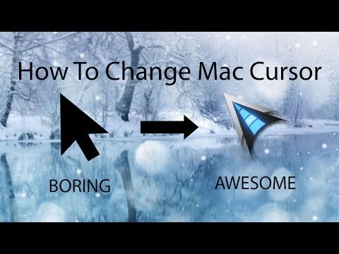 How to Change Your Mac Cursor + Animated Cursors 2018 (Mac)