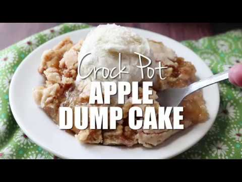 How to make: Crock Pot Apple Dump Cake