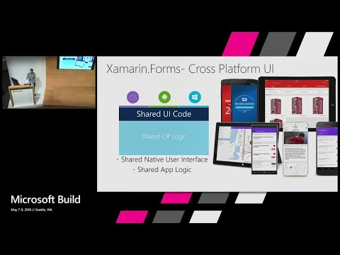 Building mobile apps with Visual Studio and Xamarin : Build 2018