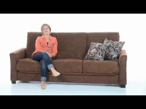 Convert-a-Couch® into a Bed