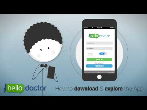 Hello Doctor - how to download the app