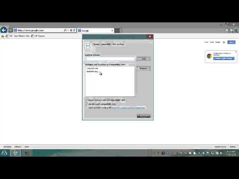 Autoloading Sites or Domains in Compatibility Mode - Internet Explorer