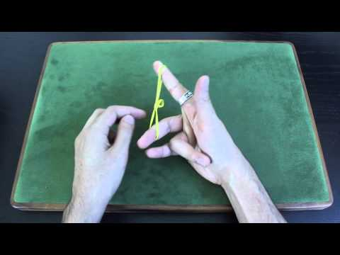 Rubber Band Finger Exercise Tutorial