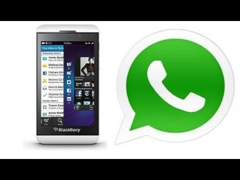 WhatsApp for BlackBerry 10 support officially extended until the end of 2017