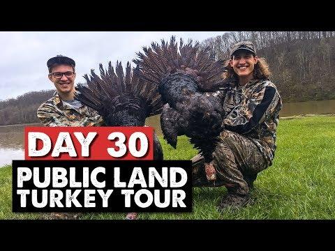 DOUBLED UP! OHIO PUBLIC LAND - Public Land Turkey Tour Day 30