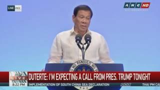 Worried Duterte warns Trump not to play into Kim Jong-Un