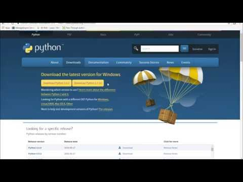 How to install and setup Python in Windows servers