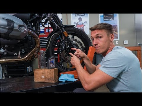 How To Bleed Your Motorcycle Brakes | MC Garage