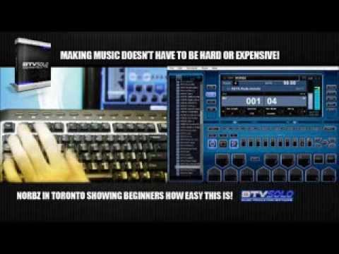 How to make your own music with BTV Solo Software