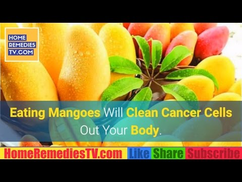 Eating MANGOES Will Clean CANCER Cells Out Your BODY. Mango the FOOD Destroy Cancer Cells Naturally