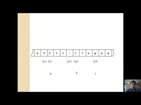 Turing machine for multiplication