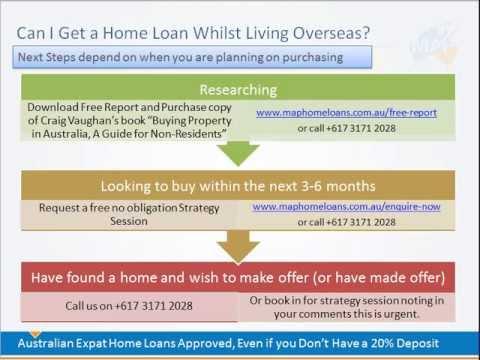 Can I Get a Home Loan if I am an Australian Citizen Living Abroad (Australian Expat)