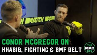 Conor McGregor on desire to compete, predicts Diaz vs. Masivdal & Khabib vs. Tony Ferguson