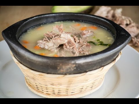 Colombian Bulgur Wheat Soup Recipe   How To Make Cuchuco   SyS