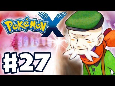Pokemon X and Y - Gameplay Walkthrough Part 27 - Gym Leader Ramos Battle (Nintendo 3DS)