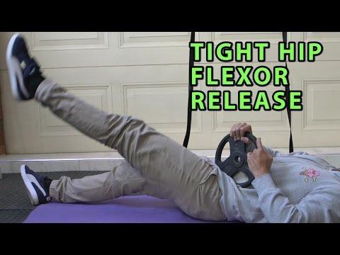 5 Hip Flexor/Psoas Release Techniques |  End Back Pain , Bad Posture , Tight Hips