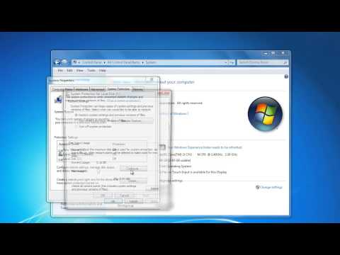 How to Enable System Protection in Windows 7