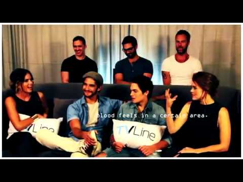 Teen wolf cast - fun & funny moments