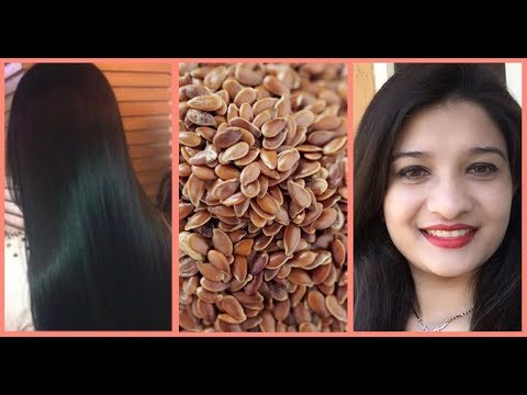 Homemade Natural Hair Gel | Hair care naturally using Flax seeds | DIY - Homemade Hair conditioner