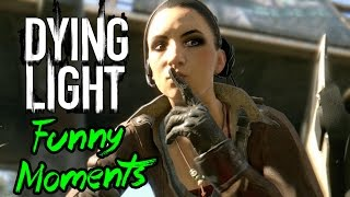Dying Light Funny Moments - (Sex, Grappling Hook, Zombie Swarms!)