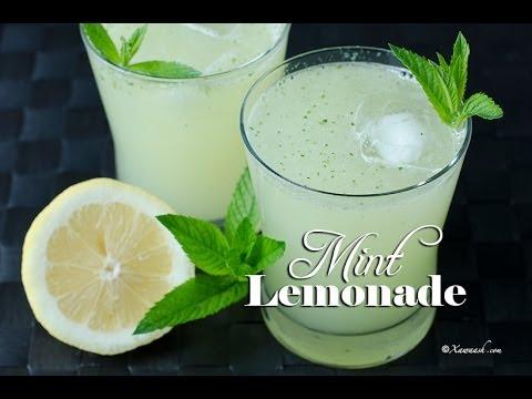 Mint Lemonade (Casiir Liin Dhanaan) عصير الليمون بالنعناع