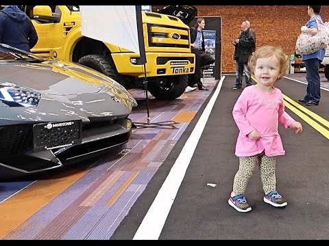 Aria at the Auto Show