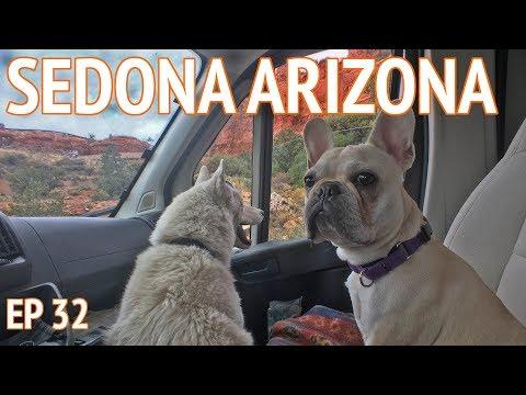 Sedona Travel VLOG   Living the Van Life in Arizona