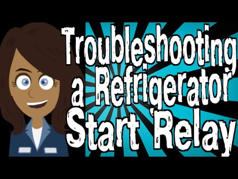 Troubleshooting a Refrigerator Start Relay