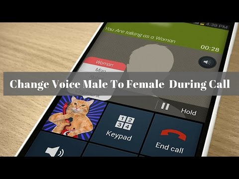 How To Change Your Voice Male To Female During Call ✓✓✓ - http://zaiditech.com
